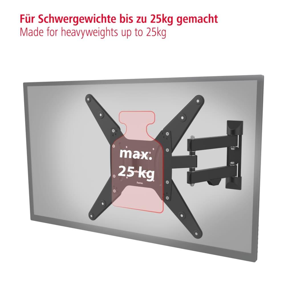 Hama TV Wandhalter schwenkbar Fernsehhalterung bis 165cm/65 Zoll »FULLMOTION, vollbeweglich«