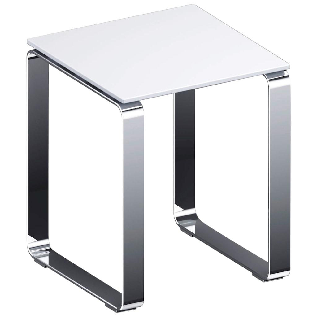 Provex Duschhocker »Serie 500«, belastbar bis 160 kg, weiß