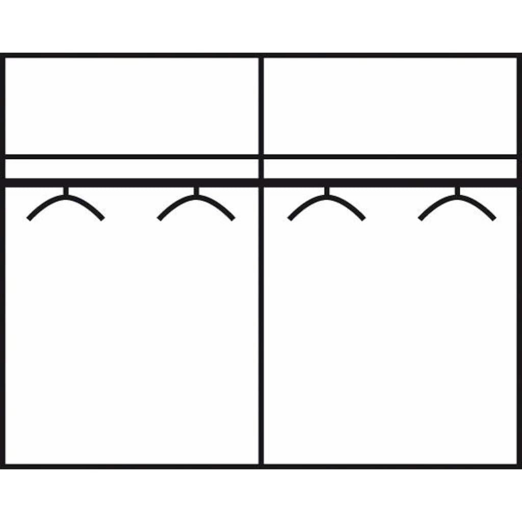 FORTE Schwebetürenschrank »Starlet Plus«, mit Hochglanzfront, in diversen Breiten