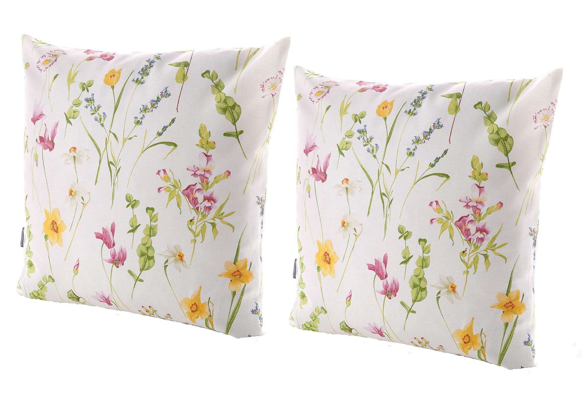 Sofa Kissenhüllen 50x50 : kissenh llen 31366 fr hlingsblumen hossner homecollection bestellen baur ~ Yuntae.com Dekorationen Ideen