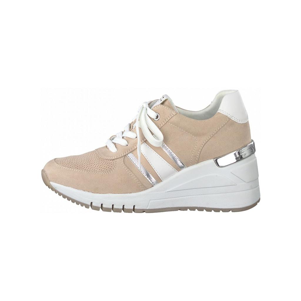 MARCO TOZZI Sneaker »Lederimitat/Textil«