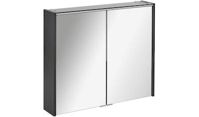 FACKELMANN Spiegelschrank »Denver«, 2 Türen, innen verspiegelt, kante Spiegeltür Alu - Optik kaufen