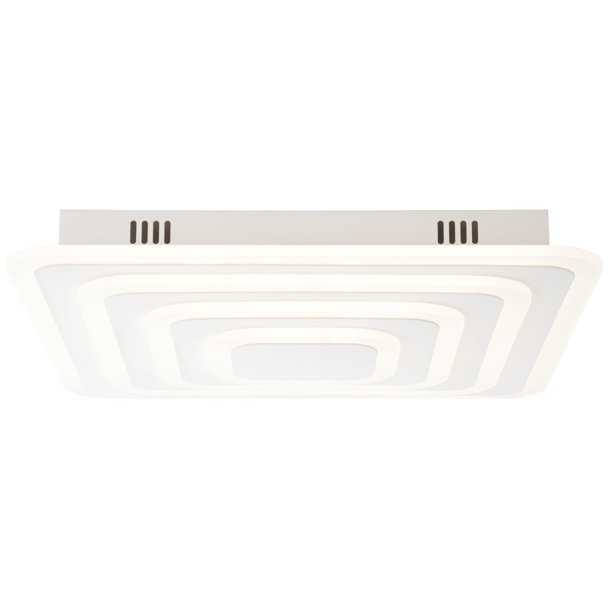 AEG Caresa LED Deckenleuchte 47x47cm sand/weiß