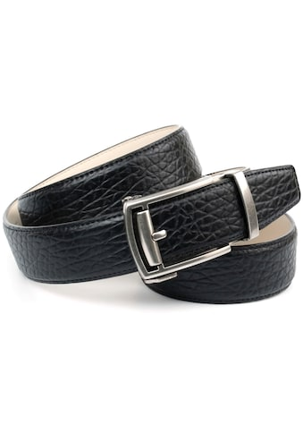 Anthoni Crown Ledergürtel, Automatikgürtel in schwarz kaufen