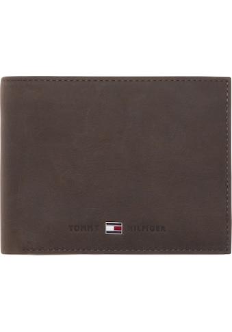 Tommy Hilfiger Geldbörse »JOHNSON CC FLAP AND COIN POCKET«, aus hochwertigem Leder kaufen