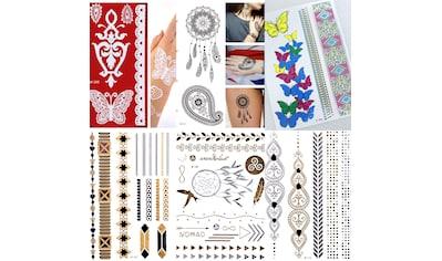 Schmuck-Tattoo »Leonie«, (6 tlg.) kaufen
