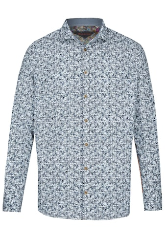 Rich Friday Langarmhemd mit floralem Minimal-Print kaufen