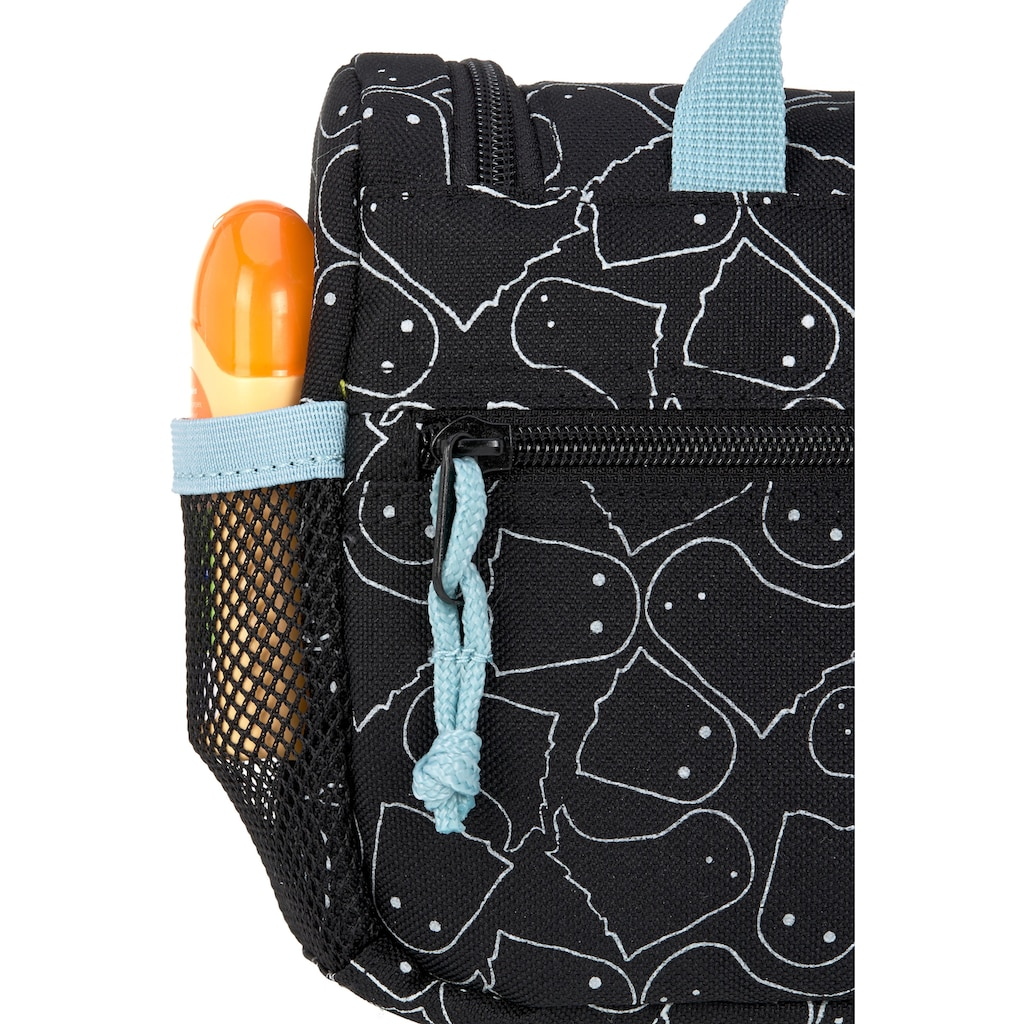 Lässig Kulturbeutel »4Kids Mini Washbag, Spooky Black«