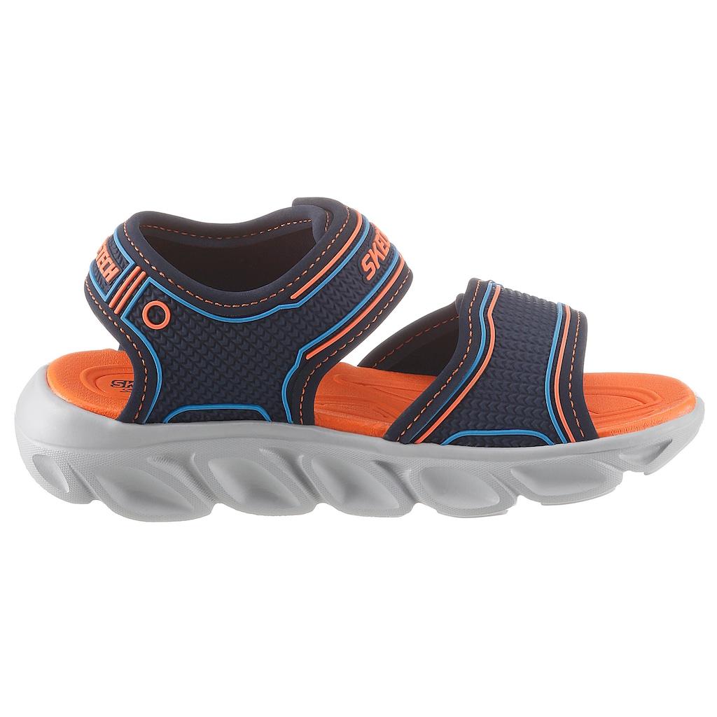 Skechers Kids Sandale »Blinkschuh Hypno-Splash Lighted«, mit Blinkfunktion an der Laufsohle