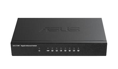 Asus GX - U1081 »KOMPAKTER PLUG - AND - PLAY - SWITCH MIT VIP - PORT« kaufen