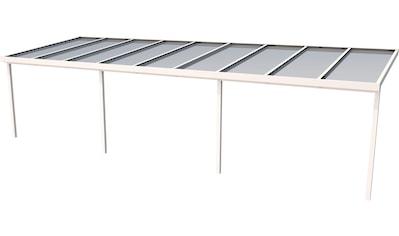 GUTTA Terrassendach »Premium«, BxT: 914x306 cm, Dach Polycarbonat bronce kaufen