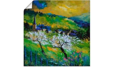 Artland Wandbild »Frühling in Mogimont« kaufen