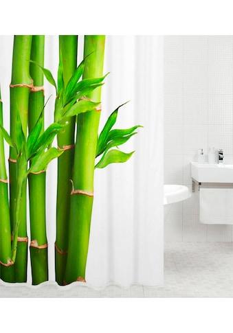 Sanilo Duschvorhang »Bambus«, Breite 180 cm, Höhe 200 cm kaufen