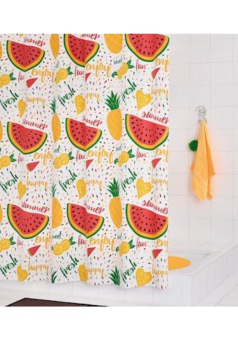 Ridder Duschvorhang »Fruits« Breite 180 cm kaufen
