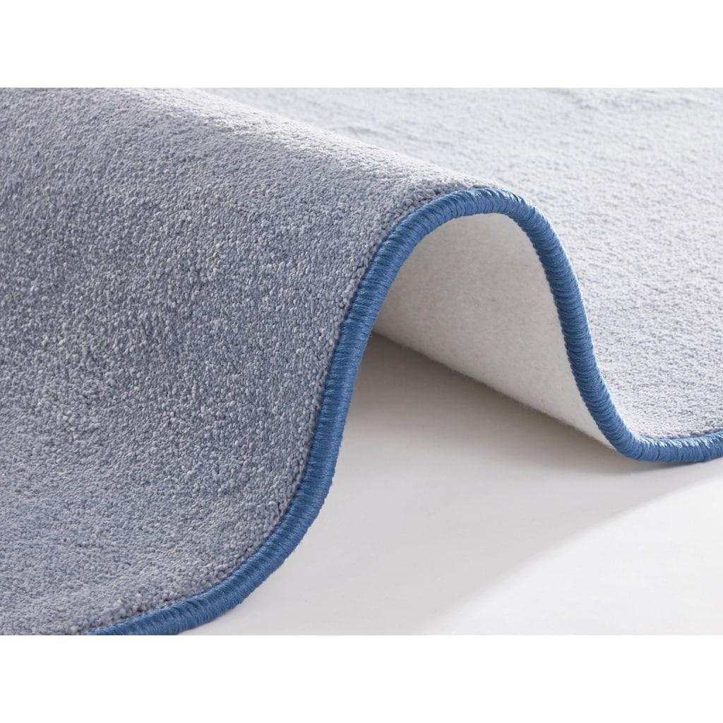 BT Carpet Teppich »Bare«, rechteckig, 10 mm Höhe, Kurzflor, besonders weich durch Microfaser, Wohnzimmer