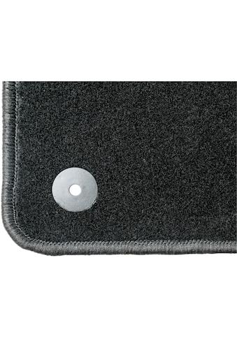 WALSER Passform-Fußmatten »Standard«, (4 St.), für Toyota Yaris Hybrid Bj 06/2012 - Heute kaufen