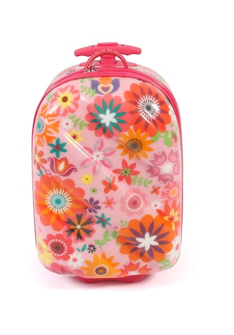 CHIC2000 Kinderkoffer »Bouncie, Flowers«, 2 Rollen, Hartschalen-Trolley kaufen