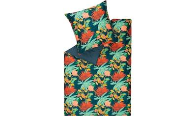SCHÖNER WOHNEN-Kollektion Wendebettwäsche »Tropic«, mit Dschungel-Motiv kaufen