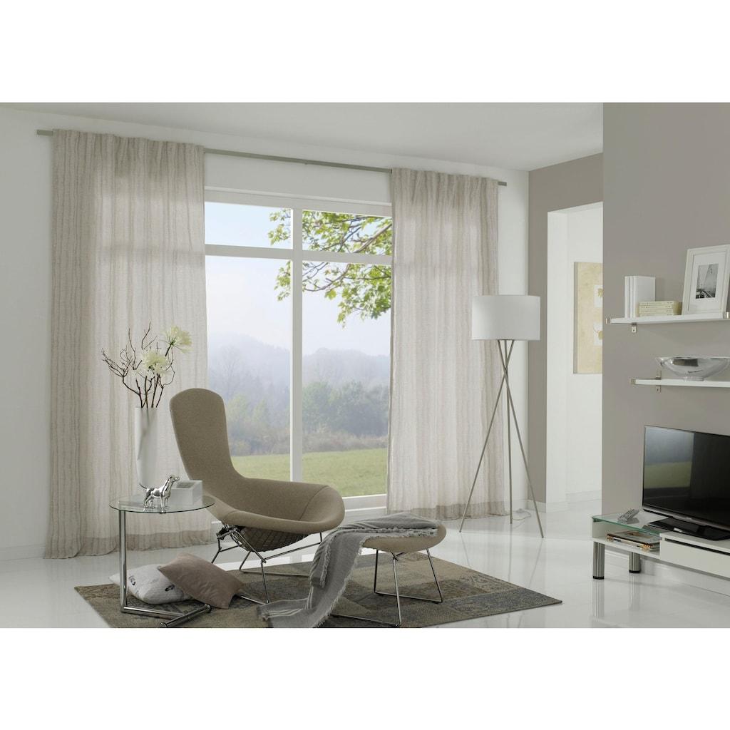 GARDINIA Gardinenschiene, 1 läufig-läufig, Fixmaß, Serie Vorhangschiene Perfectline