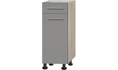 OPTIFIT Unterschrank »Bern«, 30 cm breit, mit 1 Tür, mit 1 Schubkasten, mit höhenverstellbaren Füßen, mit Metallgriffen kaufen