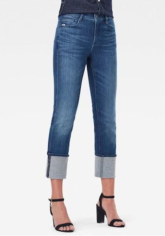 G-Star RAW Straight-Jeans »Noxer Straight«, mit Reißverschlusstasche über der... kaufen