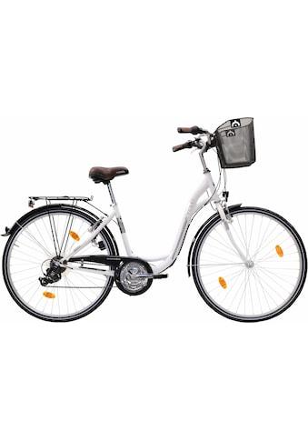 FASHION LINE Cityrad, 21 Gang, Shimano, TY 300 Schaltwerk, Kettenschaltung kaufen
