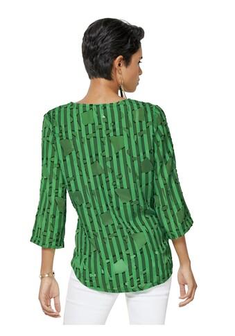 Creation L Bluse mit femininem V - Ausschnitt kaufen