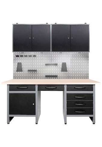 ONDIS24 Werkstatt-Set, 160 cm, mit LED kaufen