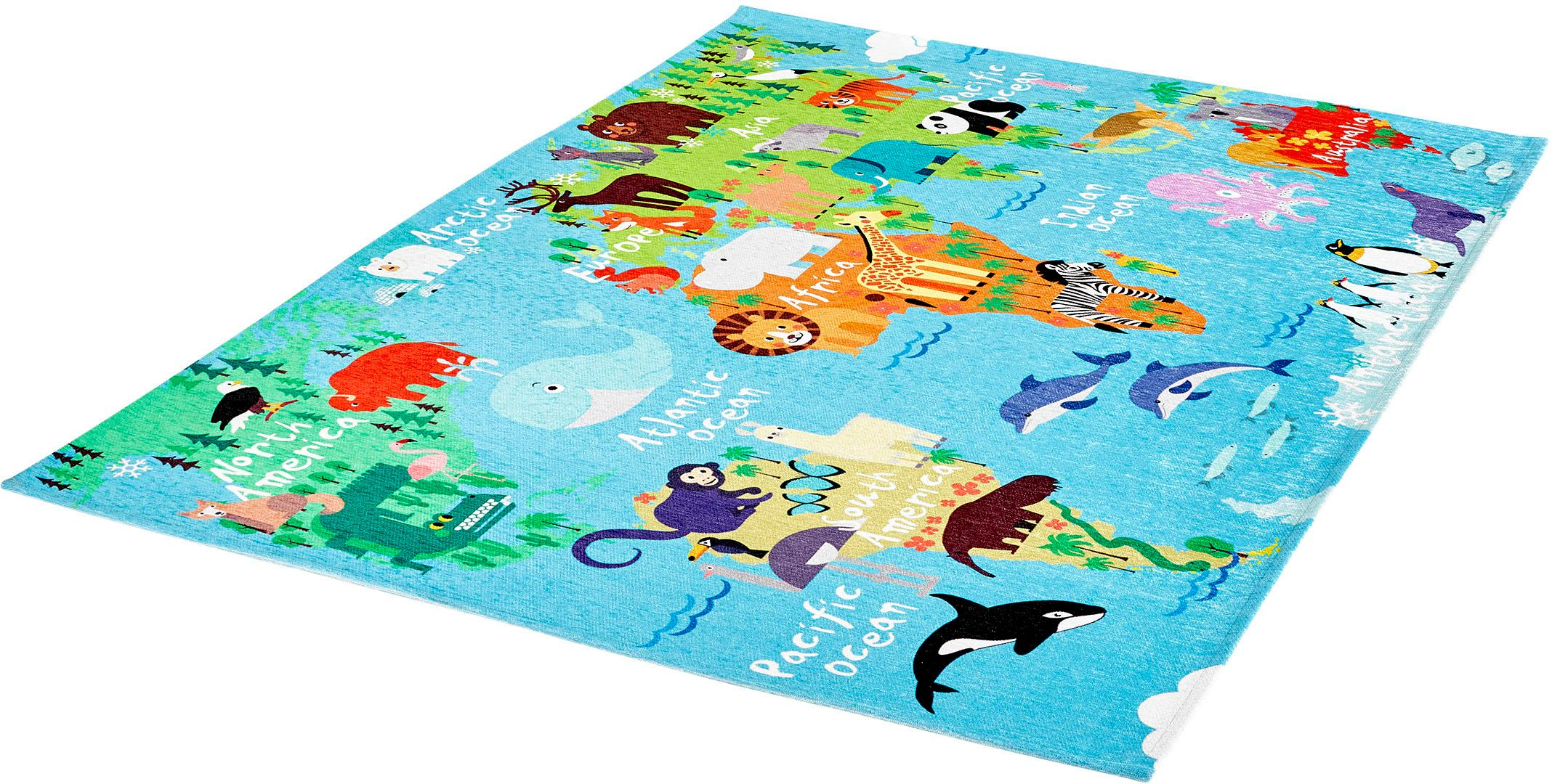 Teppich My Torino Kids 233 Obsession rechteckig Höhe 10 mm maschinell gewebt