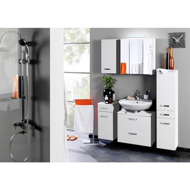 Waschbeckenunterschrank, Breite 70 cm