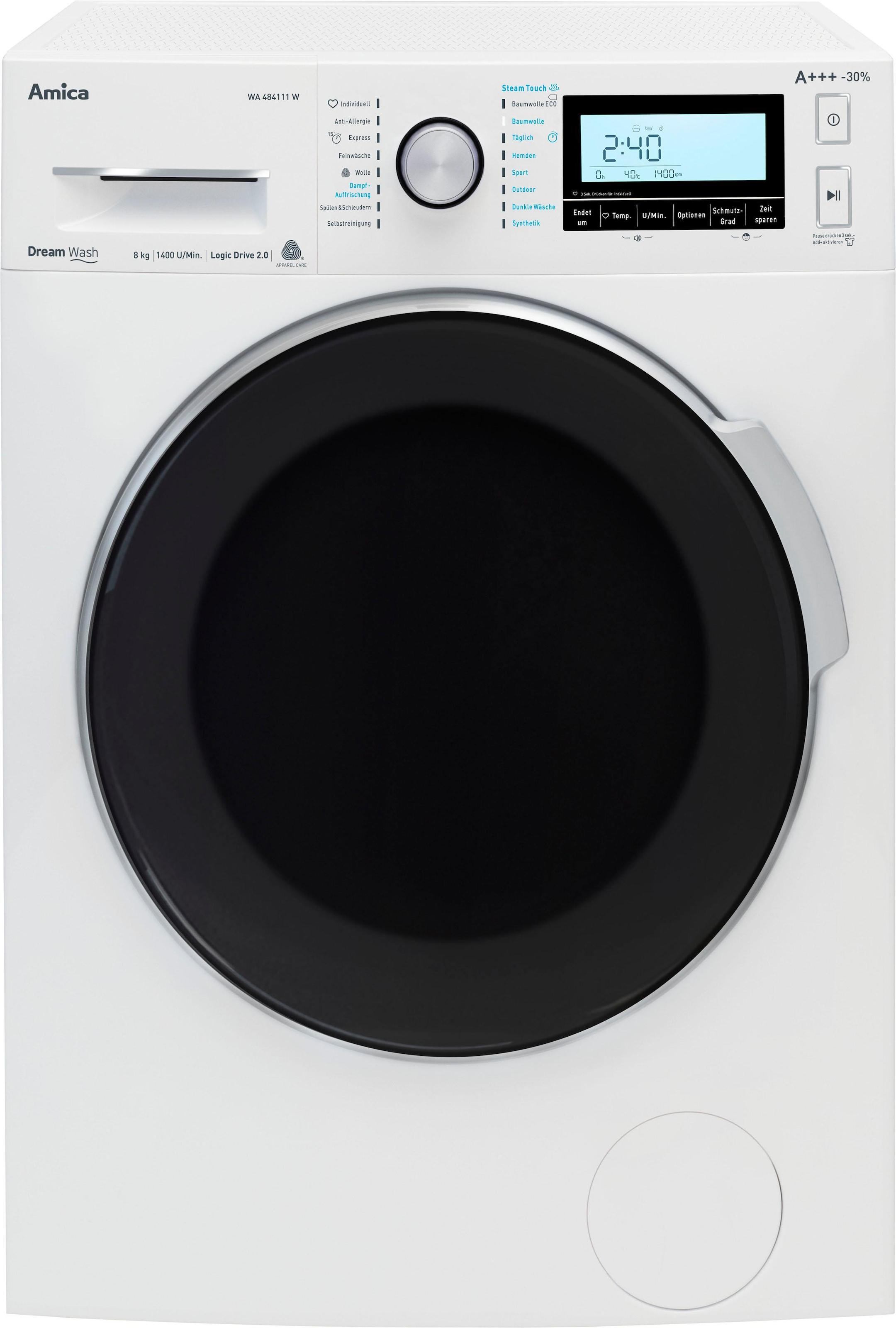 Amica WA 14680 W Waschmaschine 6kg 1000 U//min A Frontlader