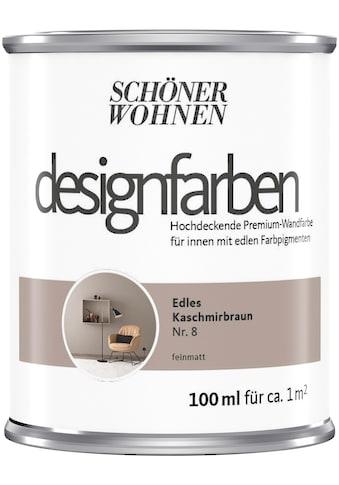SCHÖNER WOHNEN-Kollektion Wand- und Deckenfarbe »Designfarben«, hochdeckend, Edles... kaufen