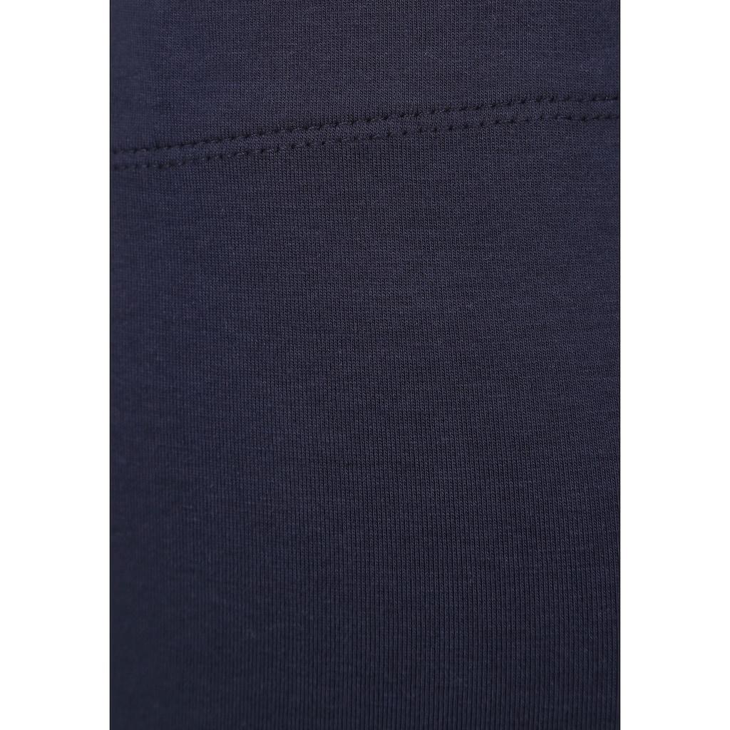 KIDSWORLD Longshirt & Leggings, mit niedlichem Marienkäfermotiv