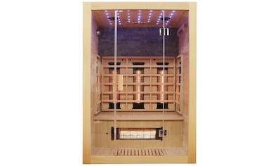 Dewello Infrarotkabine »Milton Vollspektrum«, für bis zu 2 Personen kaufen