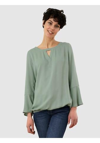 Dress In Schlupfbluse, mit schönem Detail am Ausschnitt kaufen