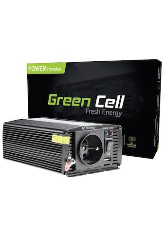 Green Cell Spannungswandler »INV02DE Auto Inverter 24V - 230V Spannungswandler«, 12V zu 230V, 300W / 600W kaufen