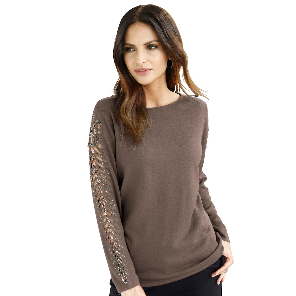 Alessa W. Rundhalspullover »Pullover«