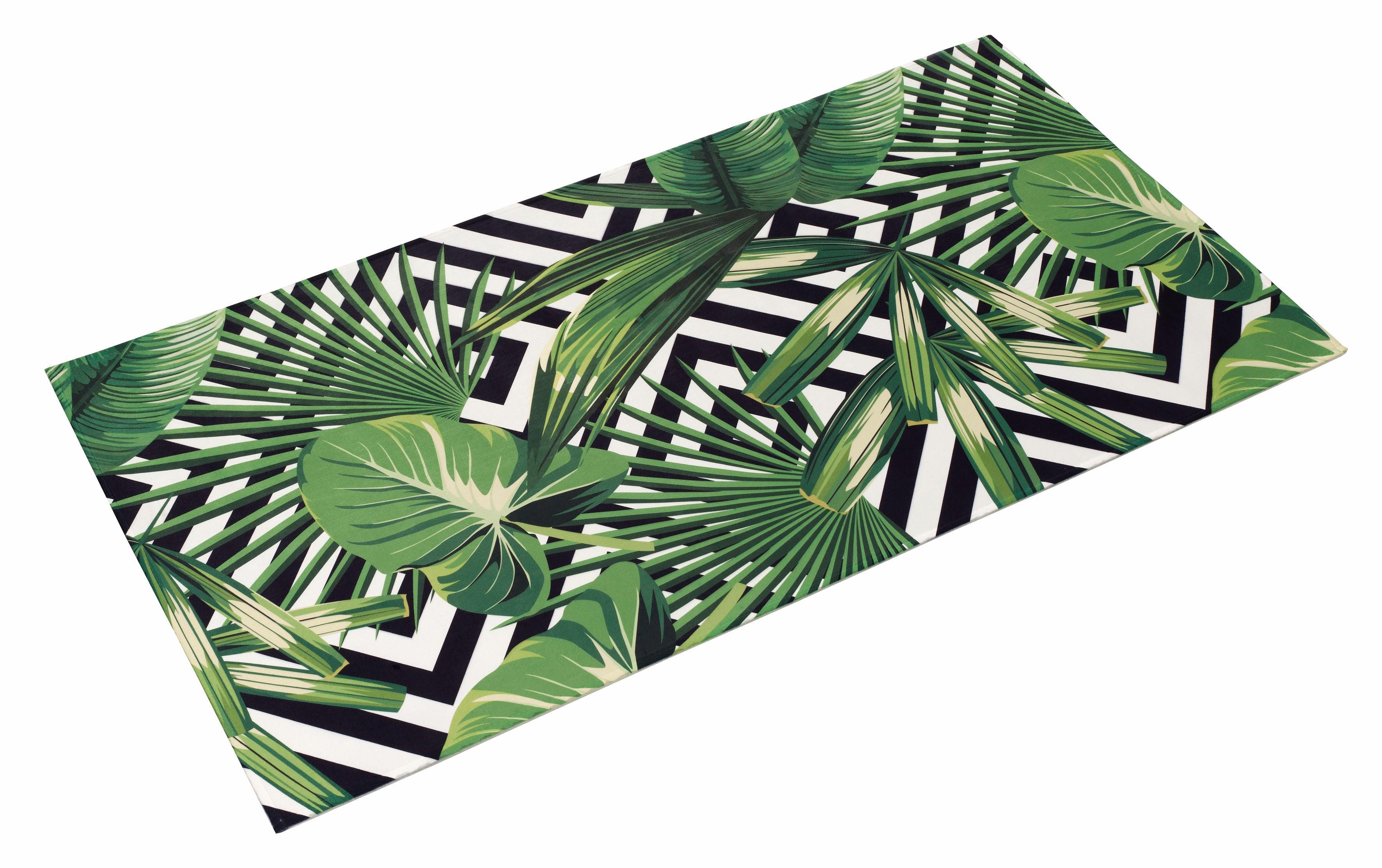Böing Carpet Teppich Lovely Kids 409, rechteckig, 6 mm Höhe, Motiv Dschungelpflanzen, Wohnzimmer grün Esszimmerteppiche Teppiche nach Räumen