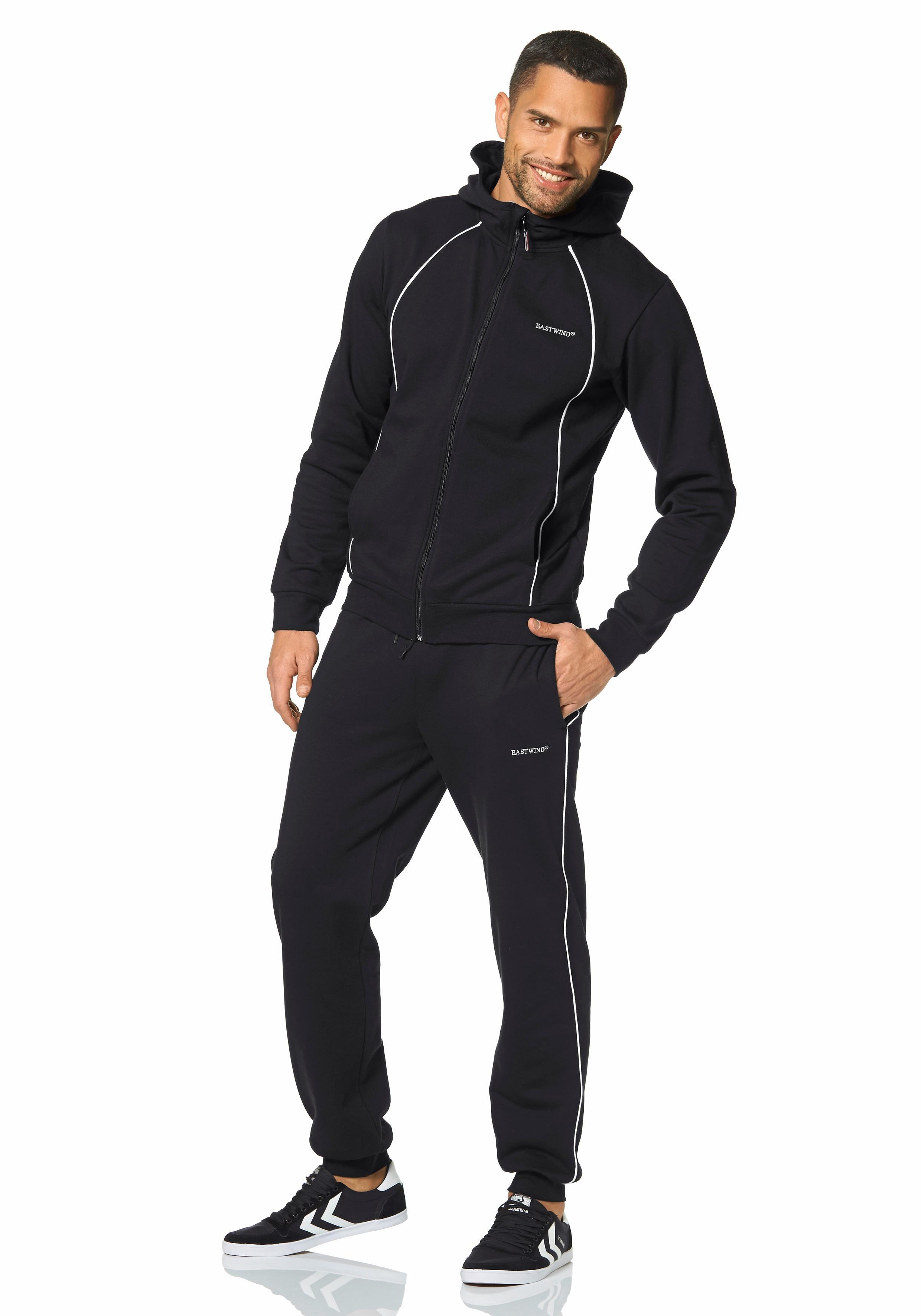 Jogginganzug Jogginganzug Trainingsanzug (set 2 Tlg)  Fitness Fitness Fitness Bekleidung Herren 4f159b