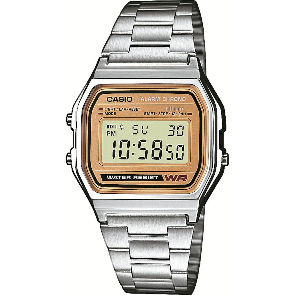 CASIO VINTAGE Chronograph »A158WEA-9EF«