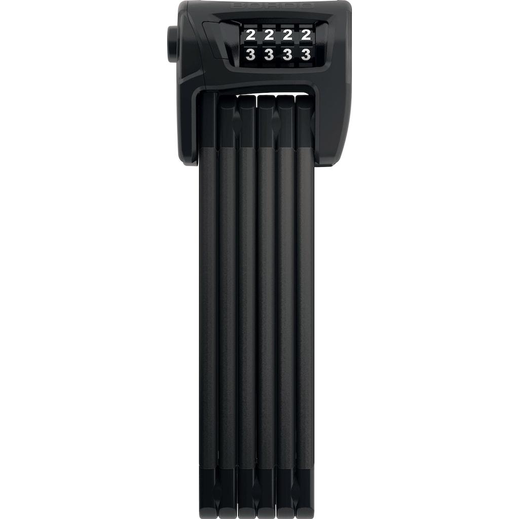 ABUS Faltschloss »6100/90 black ST«