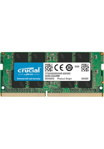 Crucial »Crucial 8GB DDR4 - 2400 SODIMM« Arbeitsspeicher kaufen