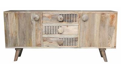 Home affaire Sideboard »Dell«, Breite 180 cm, mit dekorativem Lochmuster in den... kaufen