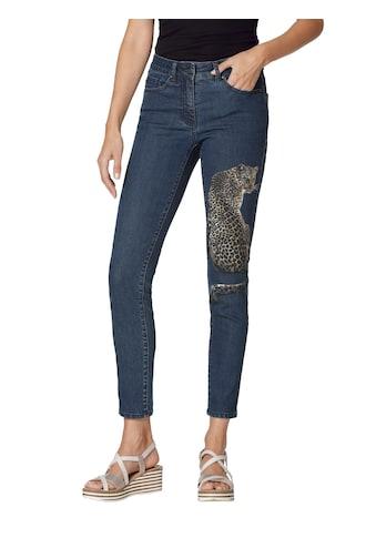 Amy Vermont 5-Pocket-Jeans, mit platziertem Druck kaufen