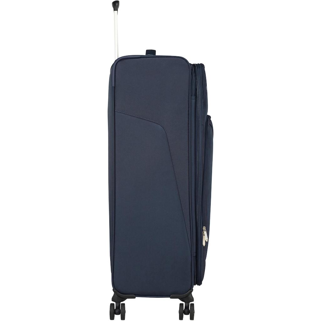 American Tourister® Weichgepäck-Trolley »Summerfunk, 79 cm, navy«, 4 Rollen
