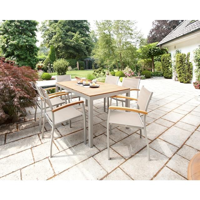 MERXX Gartentisch »Monaco«, Akazienholz, 150x90 cm, braun
