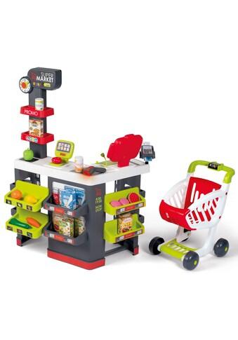 Smoby Kaufladen »Supermarkt mit Einkaufswagen«, mit Licht- und Soundeffekten; Made in... kaufen