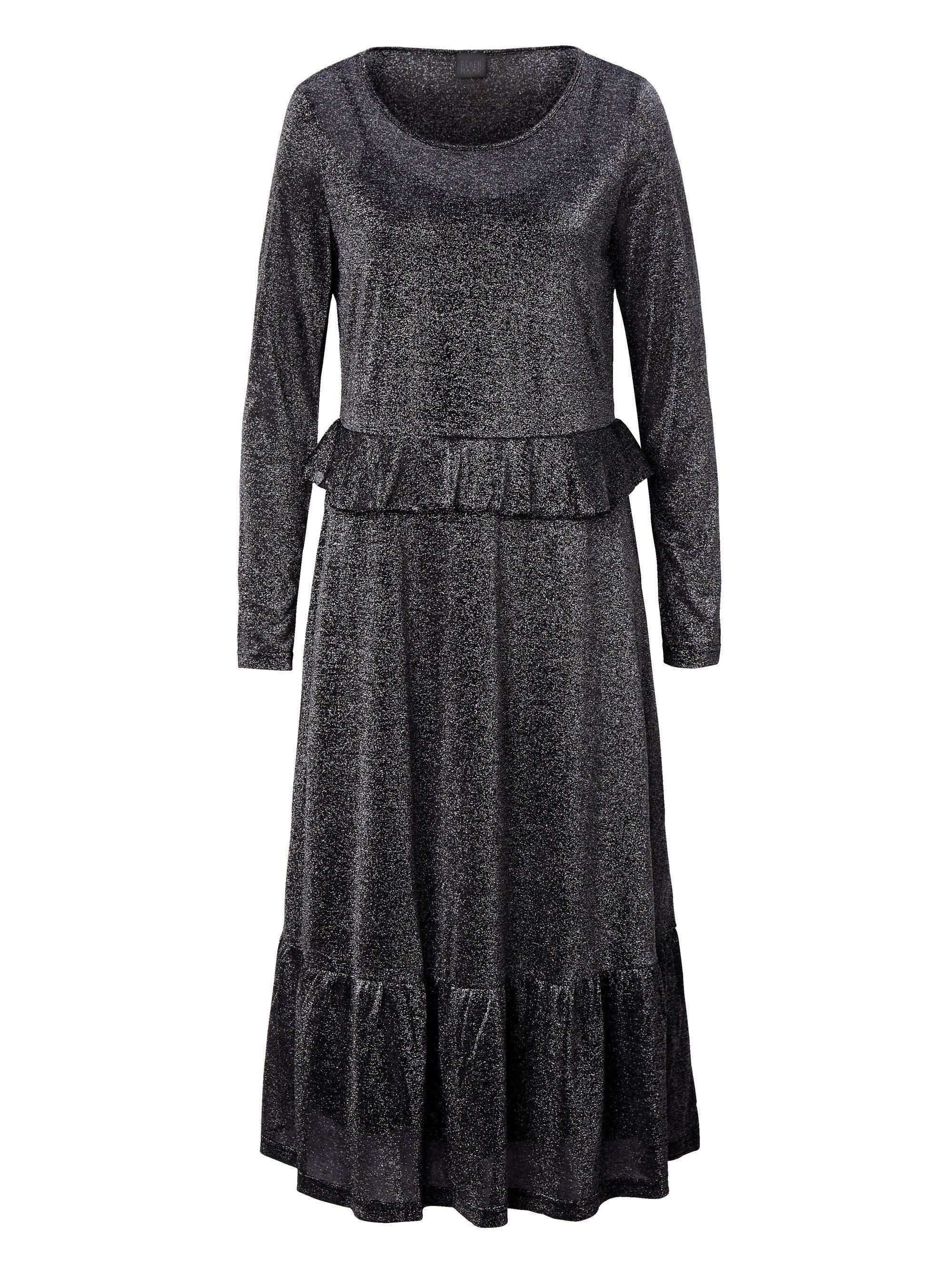 Reken Maar Jerseykleid mit Lurex