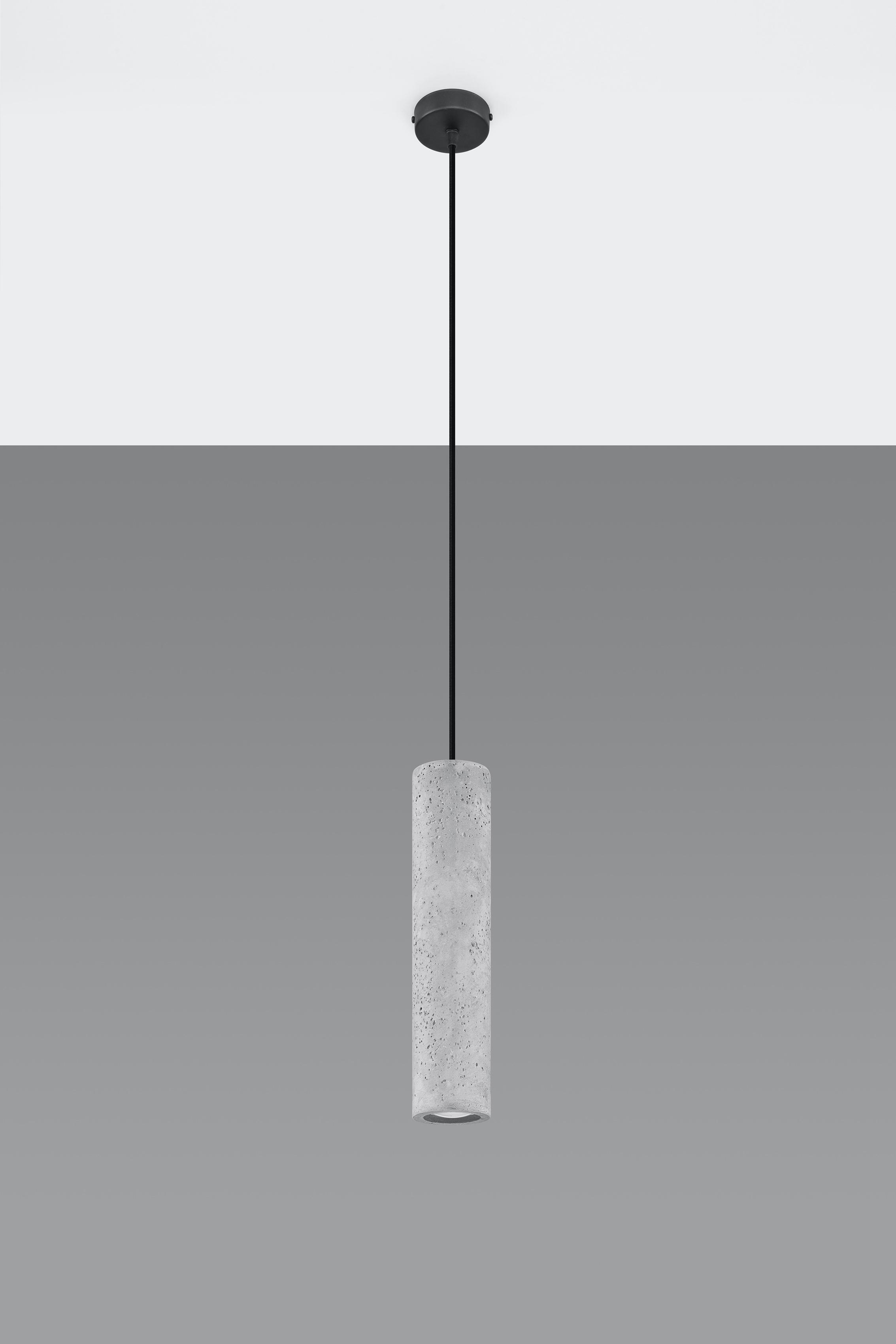 SOLLUX lighting Pendelleuchte LUVO, GU10, 1 St., Hängeleuchte, Hängelampe