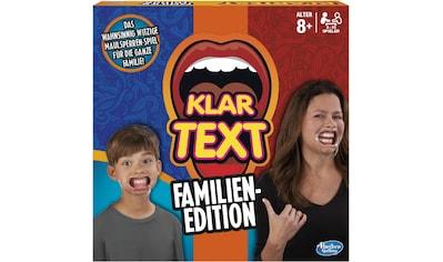 "Hasbro Spiel, ""Klartext  -  Familien - Edition"" kaufen"